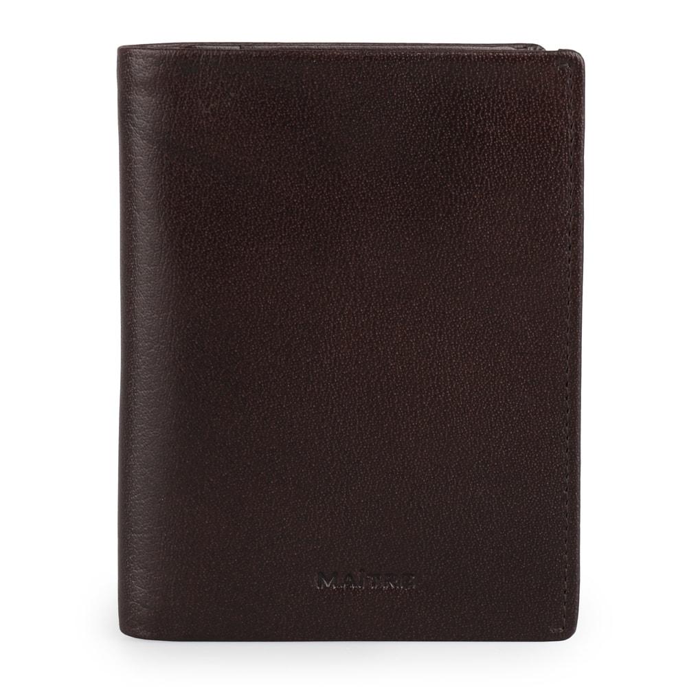 Maître Pánská kožená peněženka Bruschied Airbert 4060001532 - tmavě hnědá