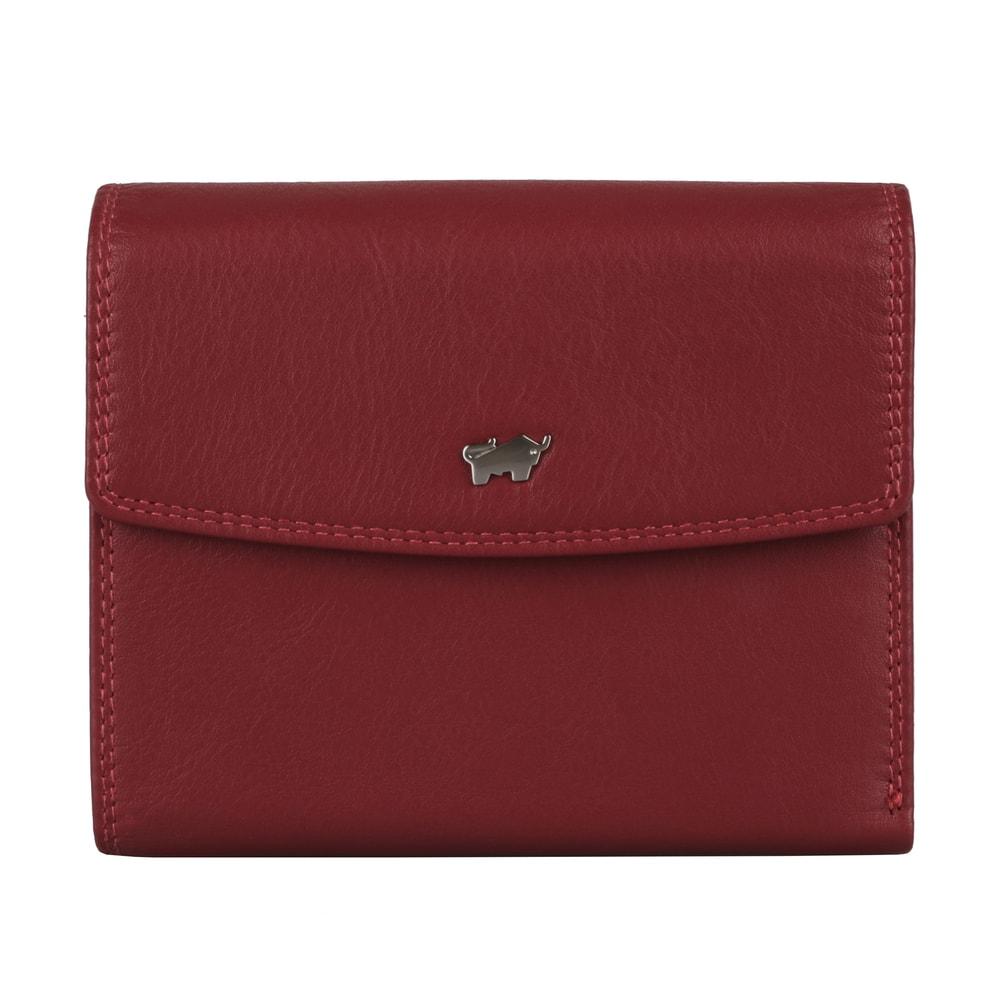 Braun Büffel Dámská kožená peněženka Golf 2.0 90444-051 - červená