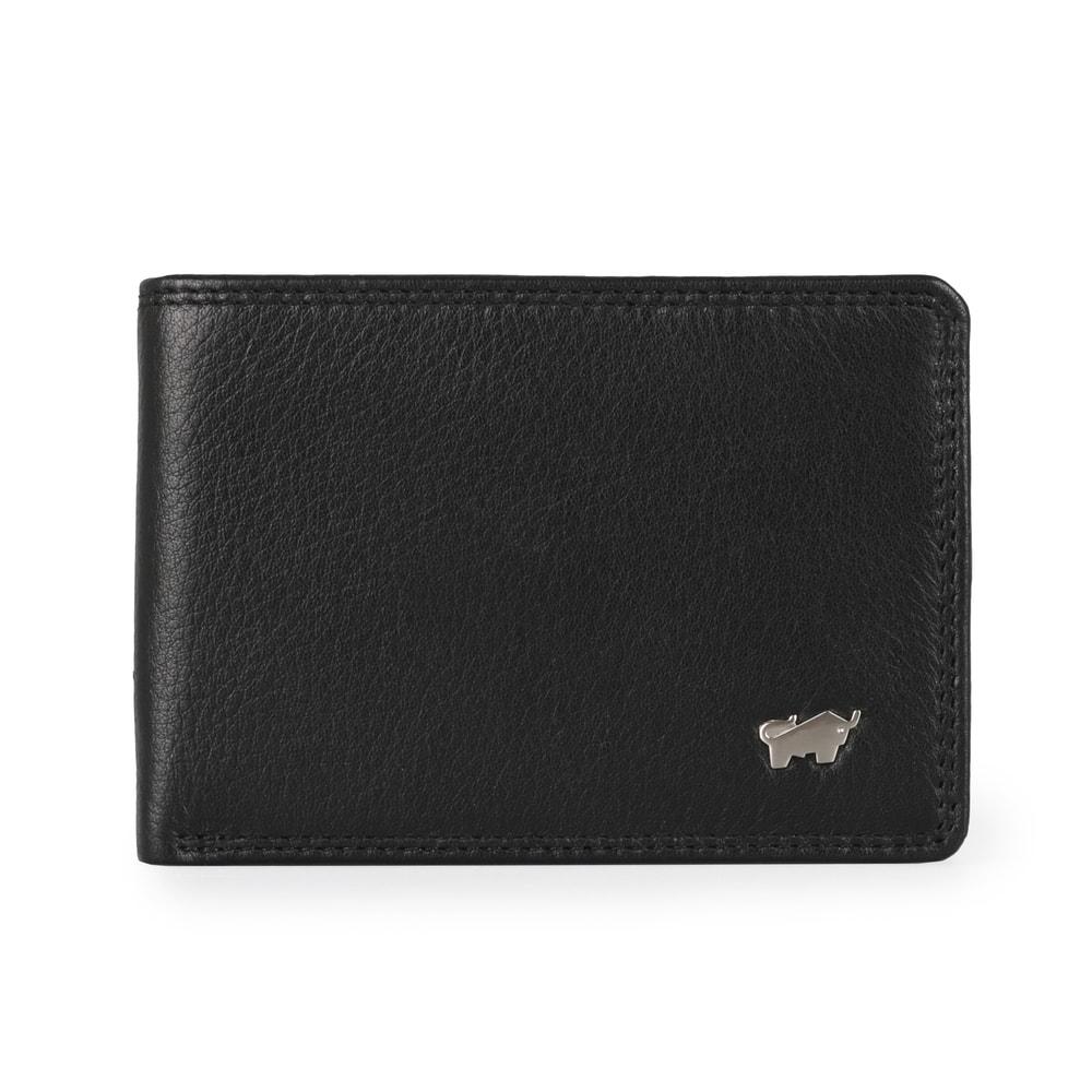 Braun Büffel Pánská kožená peněženka Golf 2.0 90326-051 - černá