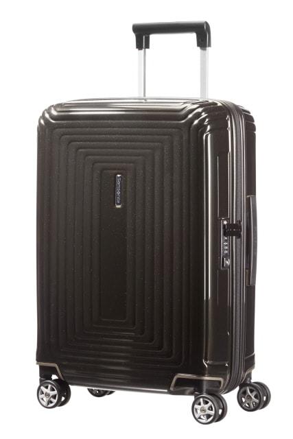 Samsonite Kabinový cestovní kufr Neopulse Spinner 38 l - lesklá černá