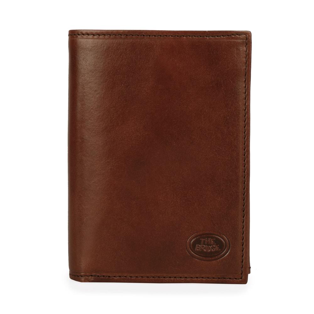 The Bridge Pánská kožená peněženka Story Uomo 01435701 - hnědá