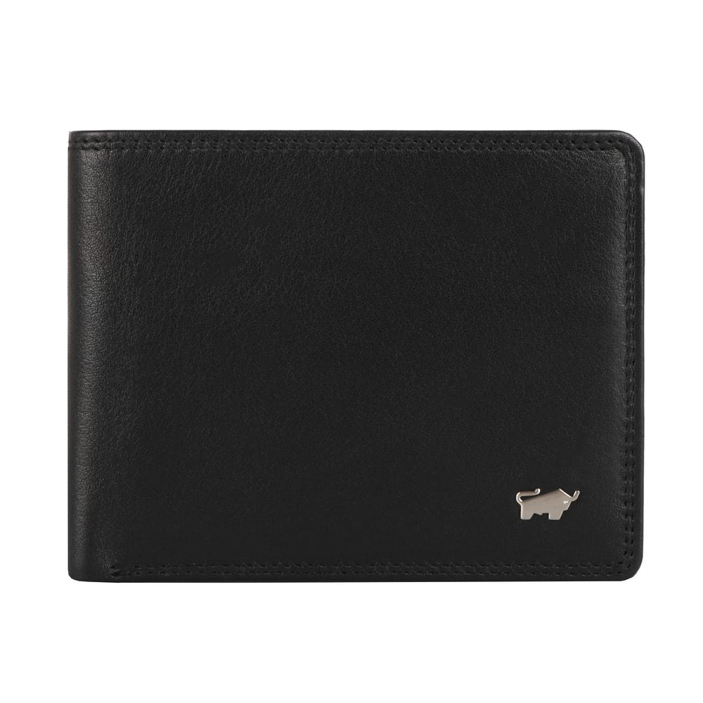 Braun Büffel Pánská kožená peněženka Golf 2.0 90327-051 - černá
