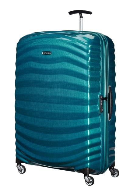 Samsonite Cestovní kufr Lite-Shock Spinner 98V 124 l - modrá