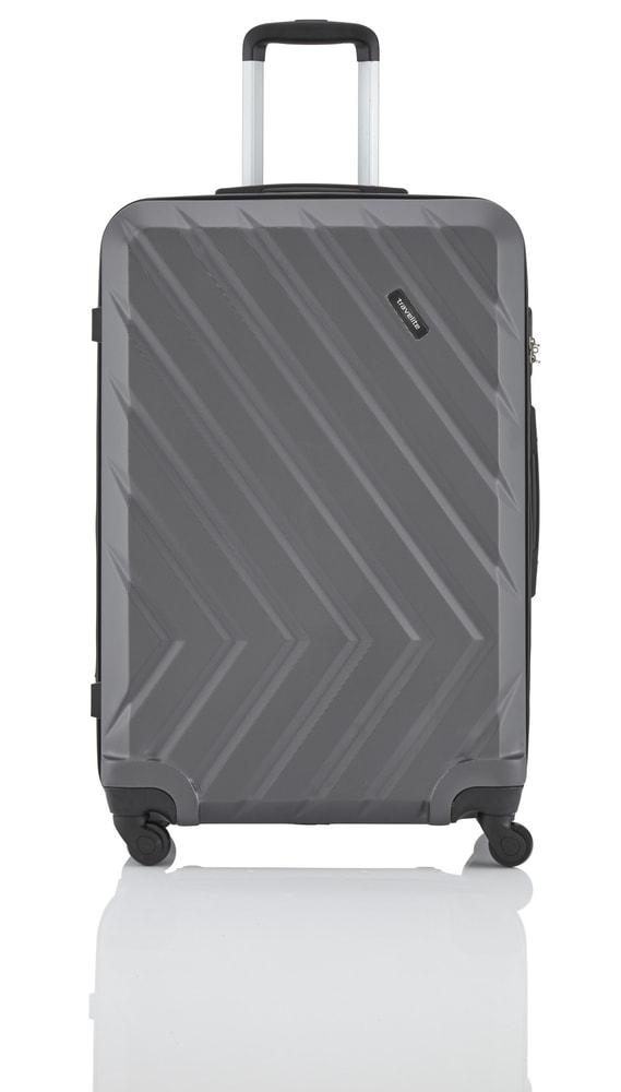 Travelite Cestovní kufr Quick 4w L Anthracite 96 l