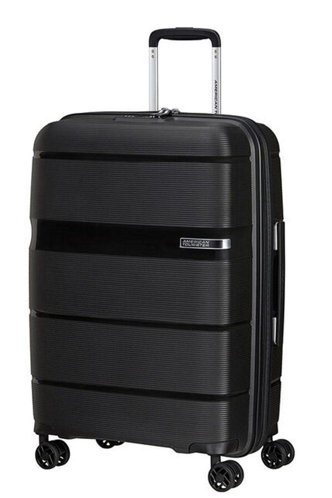 Levně American Tourister Skořepinový cestovní kufr Linex 63 l - černá