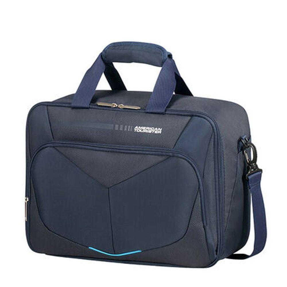 American Tourister Palubní taška Summerfunk 3 Way 27 l - tmavě modrá