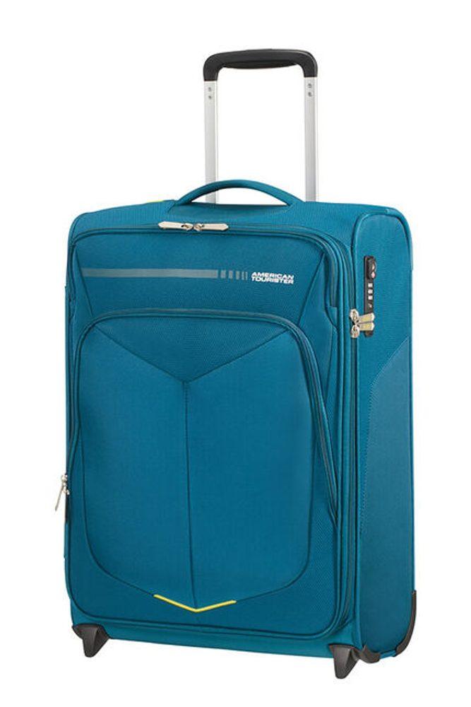 American Tourister Kabinový cestovní kufr Summerfunk Upright 78G 42 l - modrá