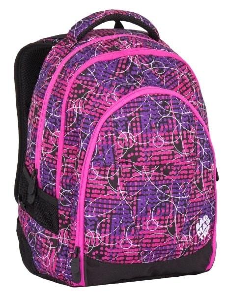 Bagmaster Dívčí studentský batoh DIGITAL 7 B 24 l