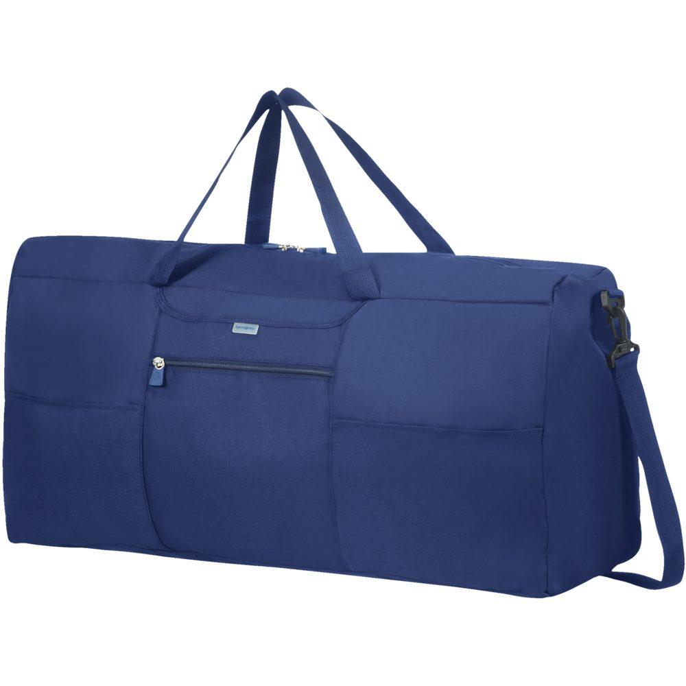 Samsonite Skládací cestovní taška XL - modrá