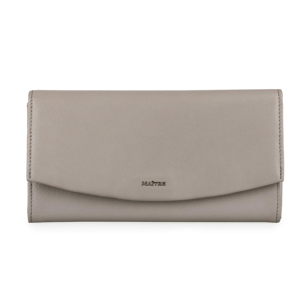 Maitre Dámská kožená peněženka Leisel Diedburg 4060001565 - šedá