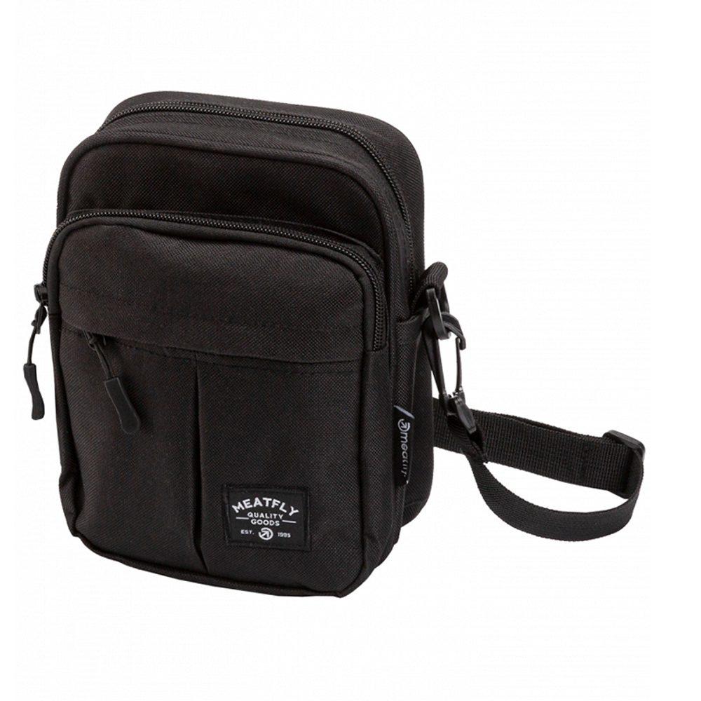 Meatfly Pánská taška přes rameno Hardy - černá