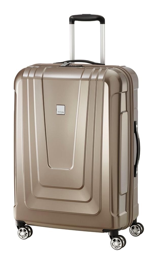 Titan Cestovní kufr X-ray 4w M+ Café Au Lait 87 l