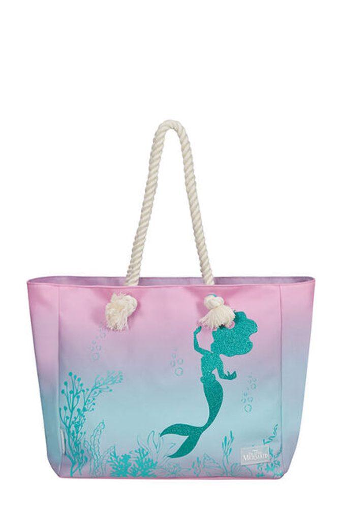 American Tourister Plážová nákupní taška Modern Glow Disney The Little Mermaid - The Little Mermaid