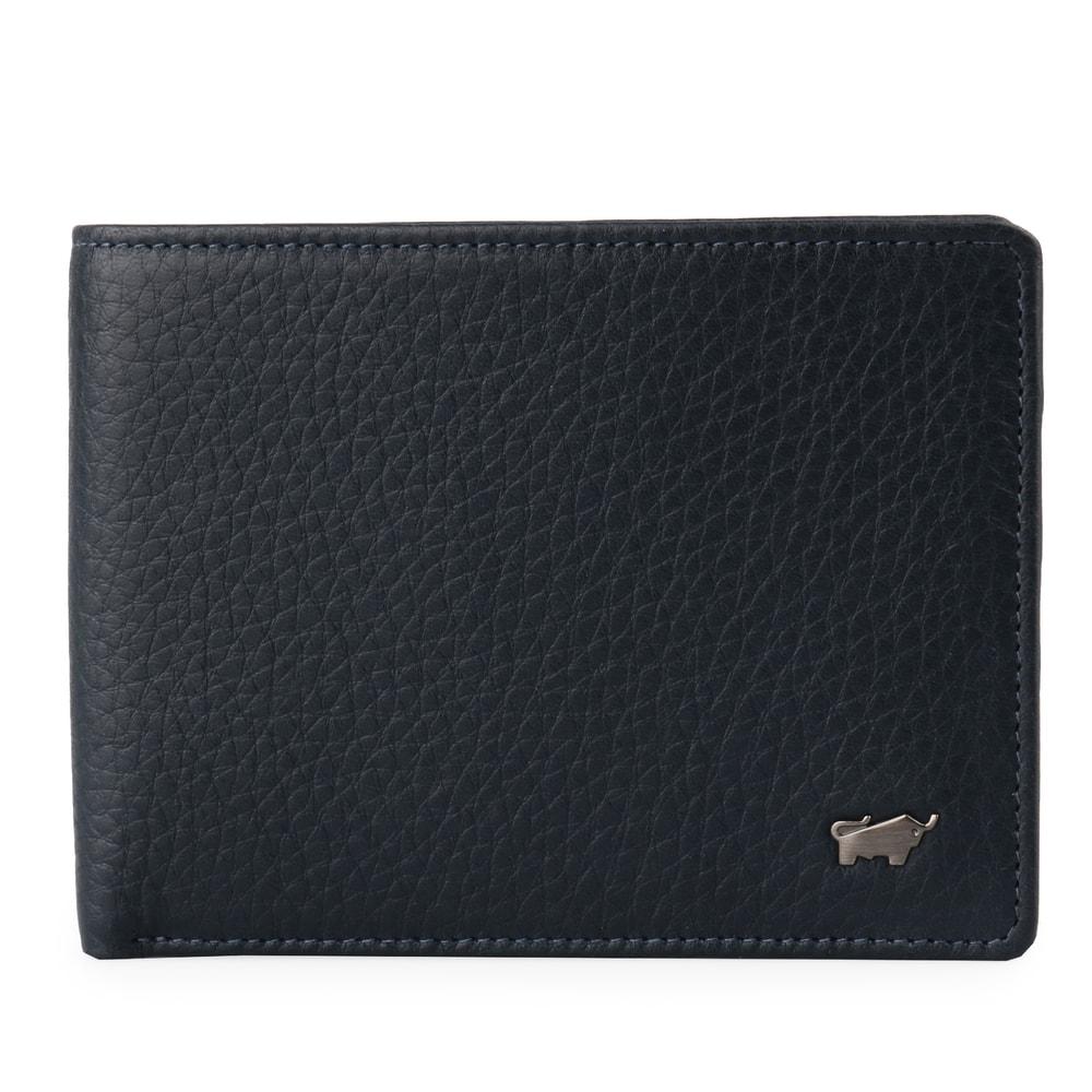 Braun Büffel Pánská kožená peněženka Terra 18737-180 - modrá
