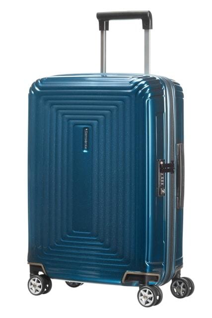 Samsonite Kabinový cestovní kufr Neopulse Spinner 38 l - modrá