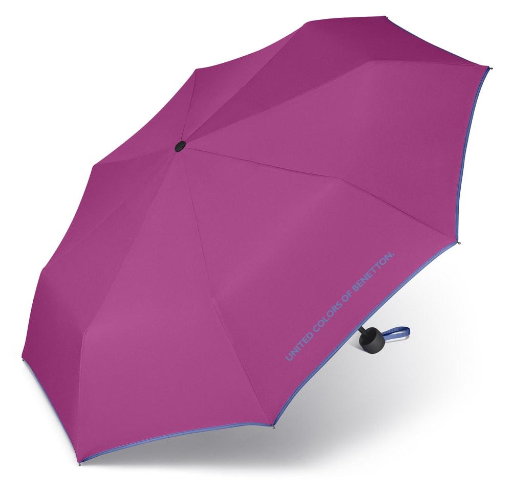 United Colors of Benetton Skládací deštník 56200 - fuchsiová