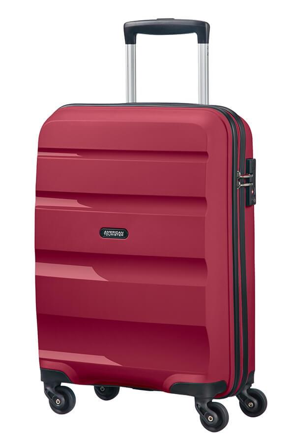 American Tourister Kabinový cestovní kufr Bon Air Spinner 85A 31,5 l - fuchsiová