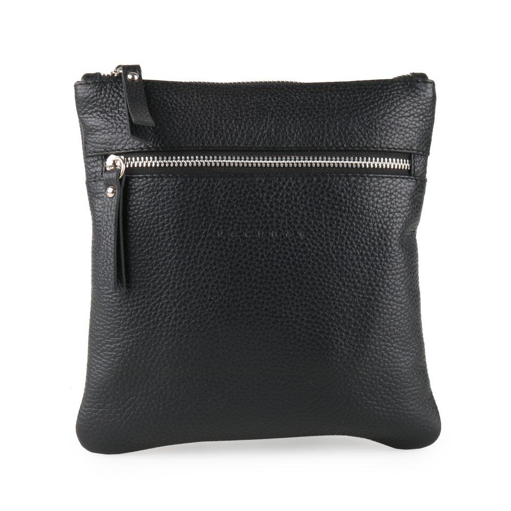 Unidax Pánská kožená crossbody taška Facebag Pepe 8017 - černá