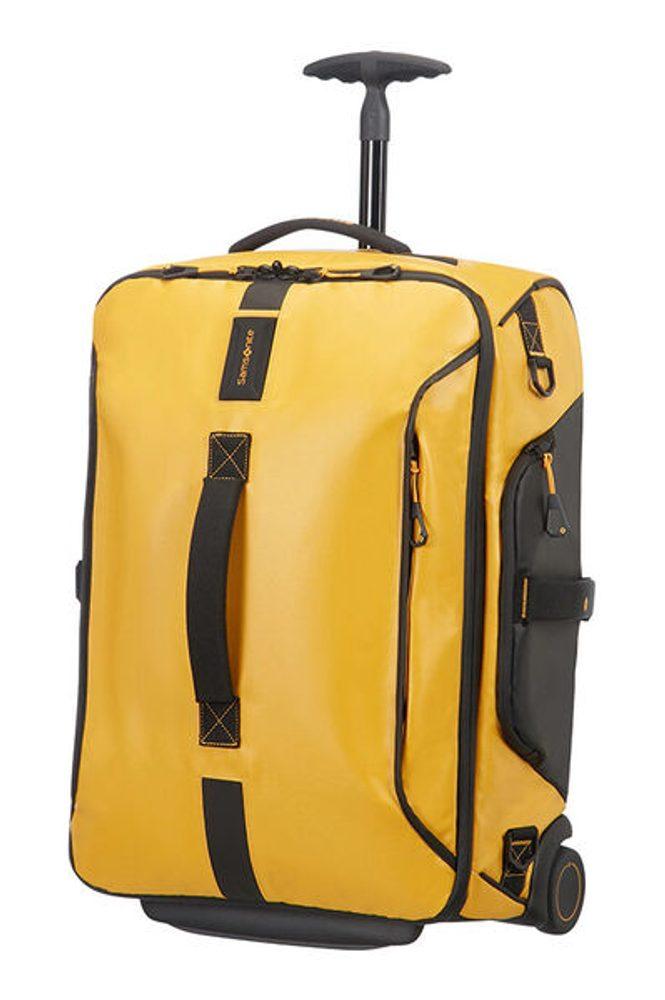 Samsonite Kabinová taška s kolečky PARADIVER 51 l - žlutá