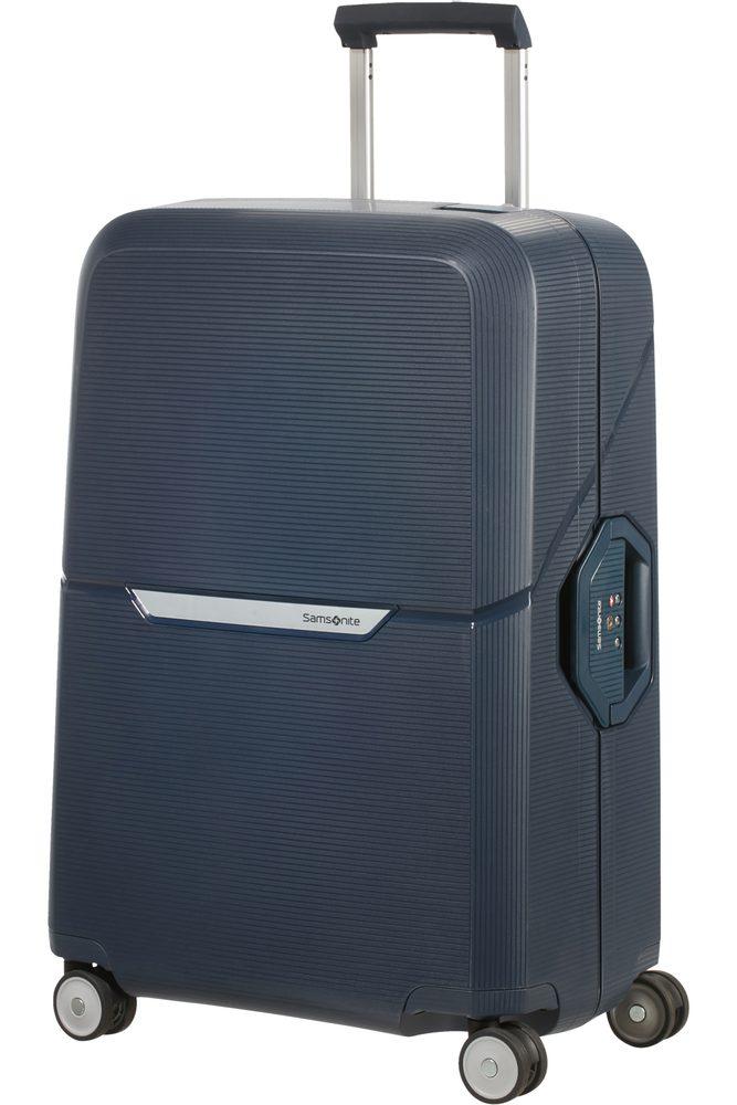 Levně Samsonite Skořepinový cestovní kufr Magnum 82 l - tmavě modrá