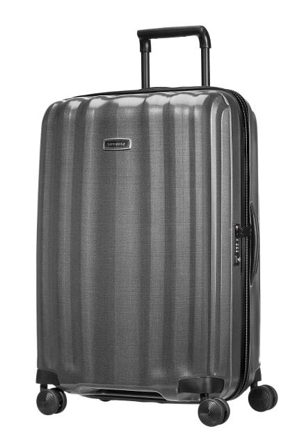 Samsonite Cestovní kufr Lite-Cube DLX Spinner 82V 96 l - šedá