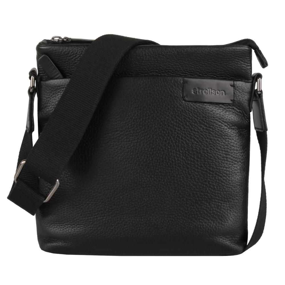 Strellson Pánská taška přes rameno Garret 4010002350 - černá