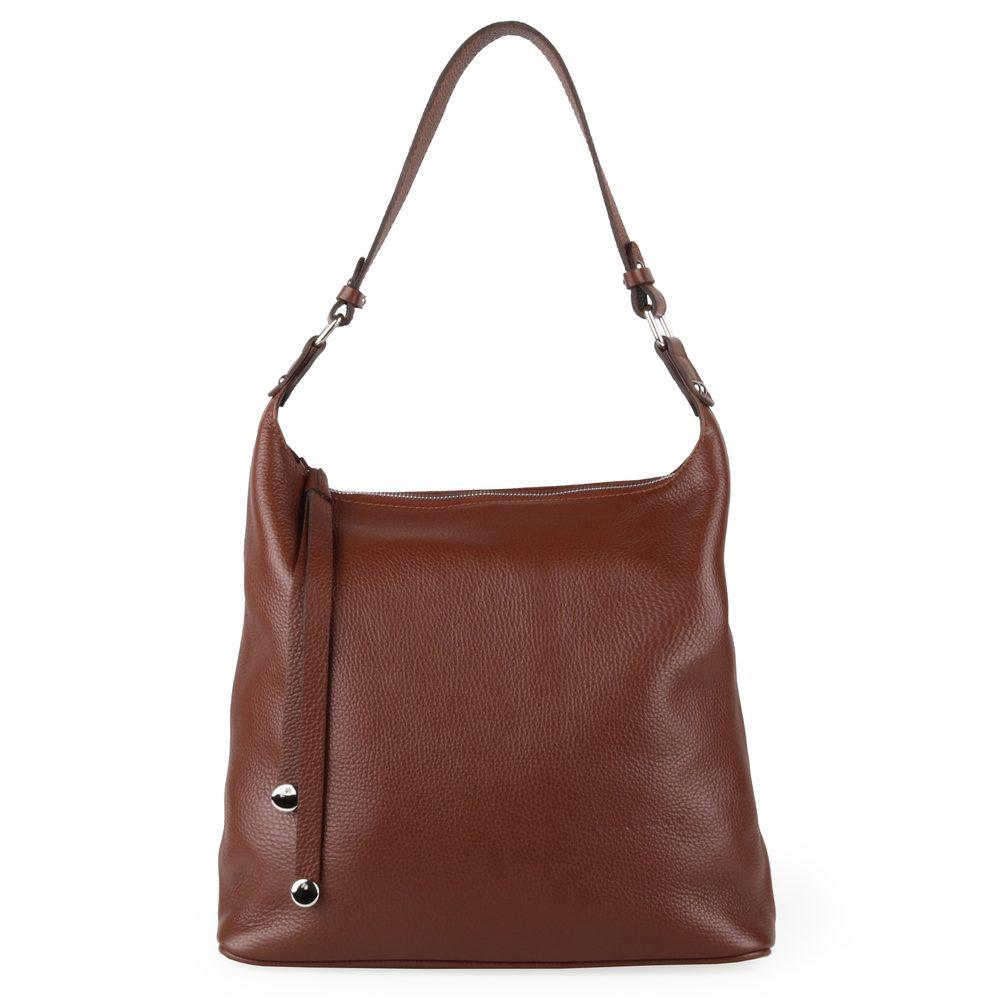 Unidax Dámská kožená kabelka přes rameno Facebag Tara 7062/14 - hnědá