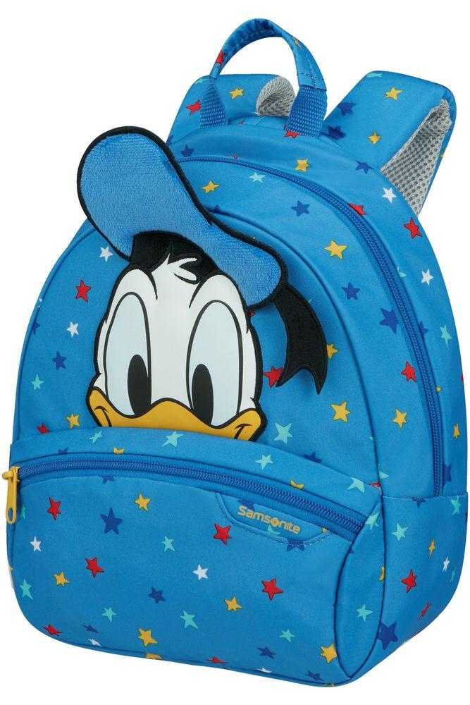 Samsonite Dětský batoh Disney Ultimate 2.0 S Donald Stars 5 l - modrá