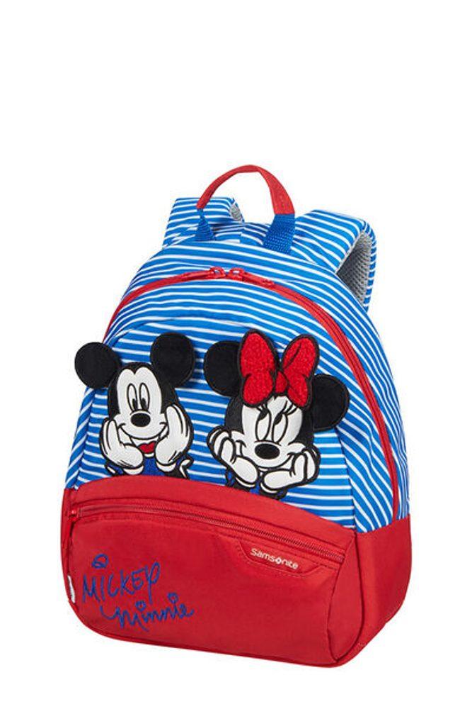 Samsonite Dětský batoh Disney Ultimate 2.0 S Disney Stripes 7 l - Minnie/Mickey Stripes