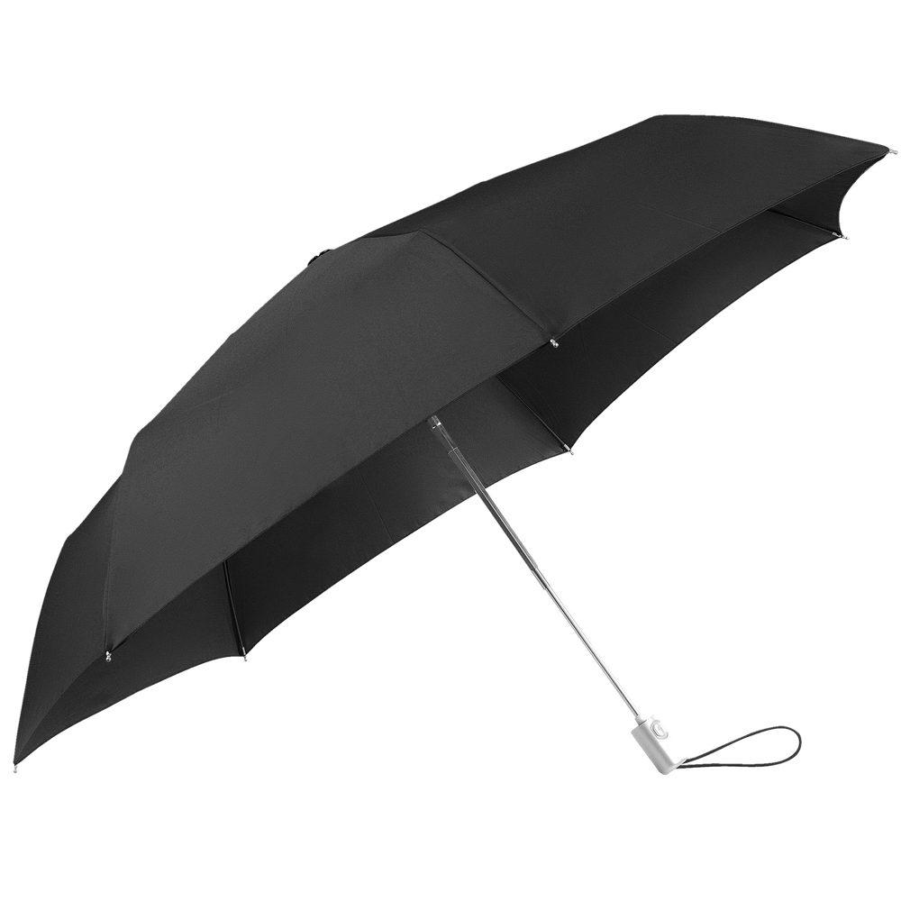 Samsonite Skládací automatický deštník Alu Drop S Slim - černá