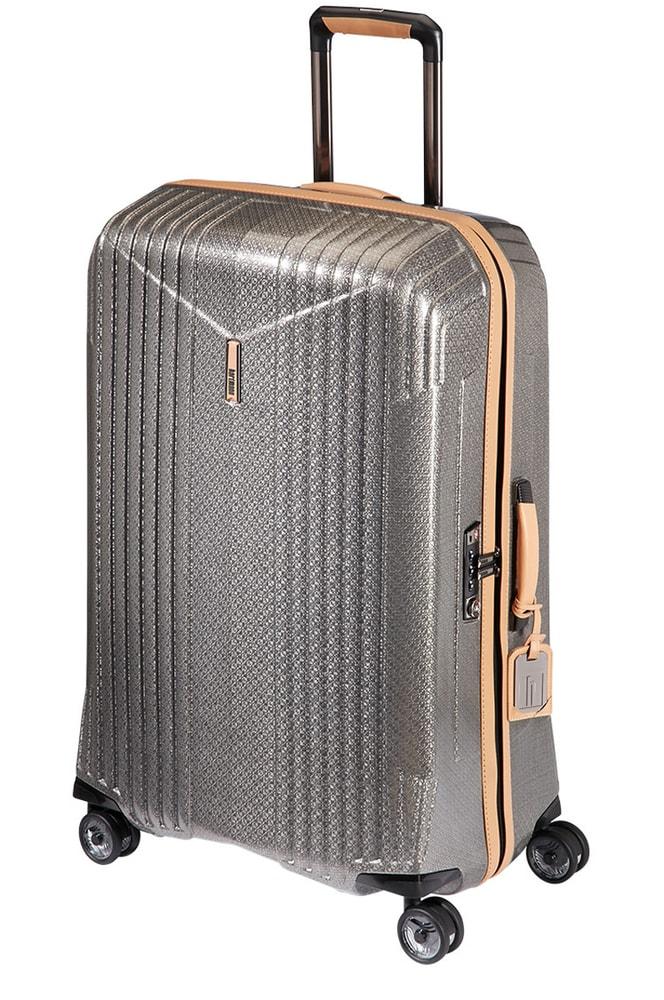 Levně Hartmann Cestovní kufr 7R Spinner 88,5 l - stříbrná