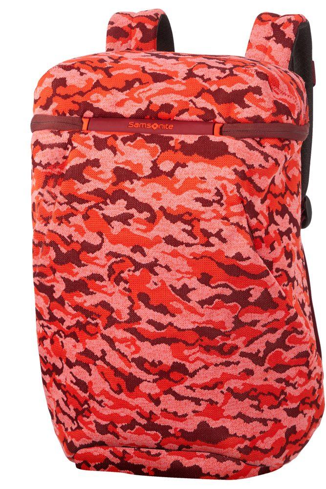 Samsonite Batoh na notebook 15,6'' Neoknit M 17 l - světle červená