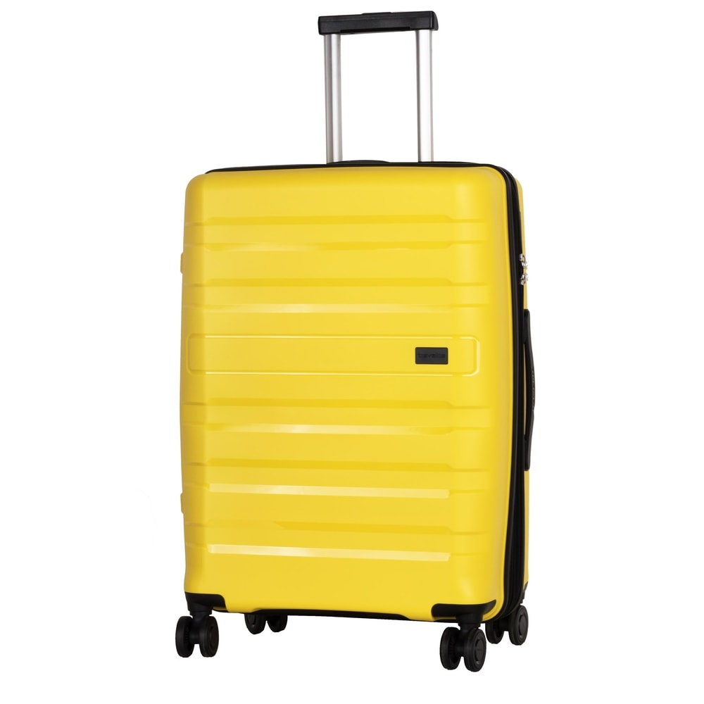 Travelite Cestovní kufr Kosmos 4w M Yellow 72/80 l