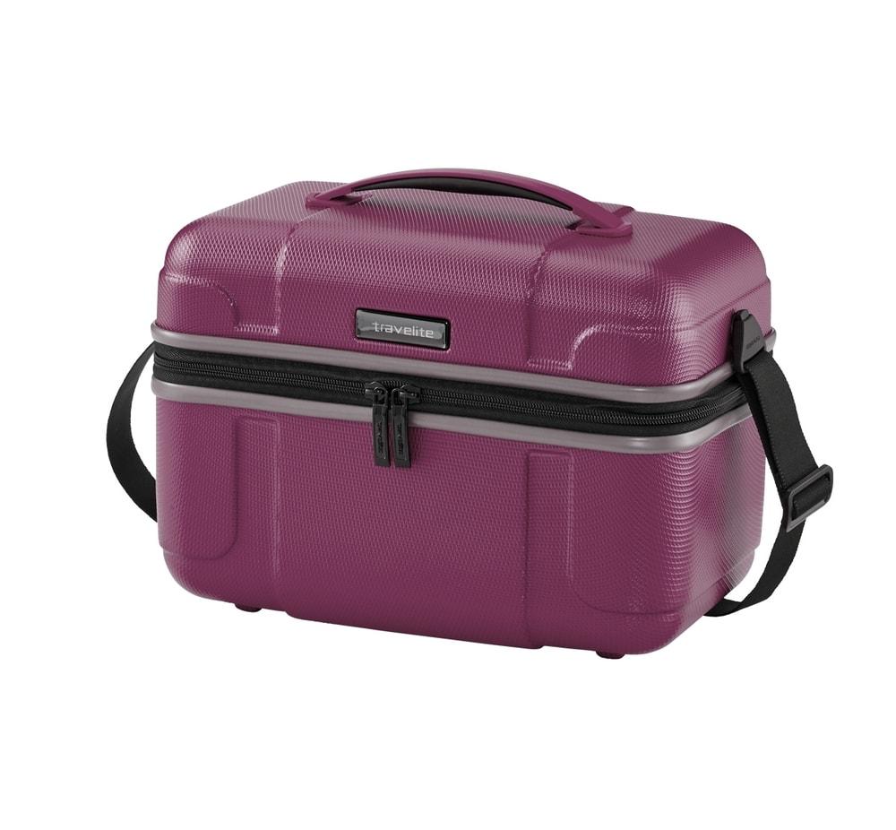 Travelite Kosmetický kufřík Vector Plum 20 l