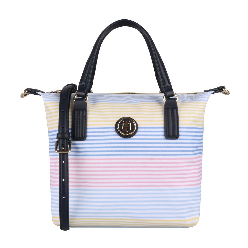 Tommy Hilfiger Dámská kabelka do ruky Poppy Small AW0AW06863 - multicolor