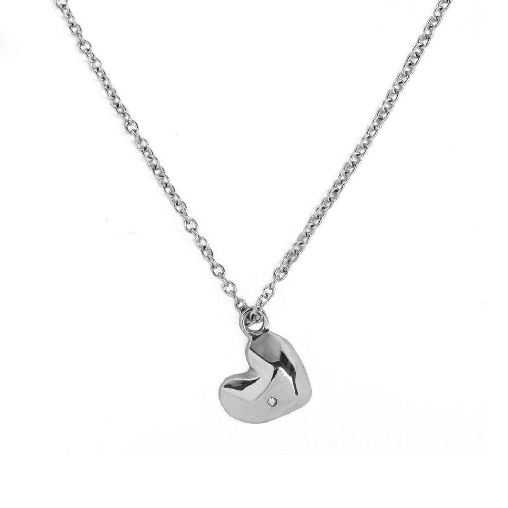 Vuch Dámský náhrdelník Amour Silver