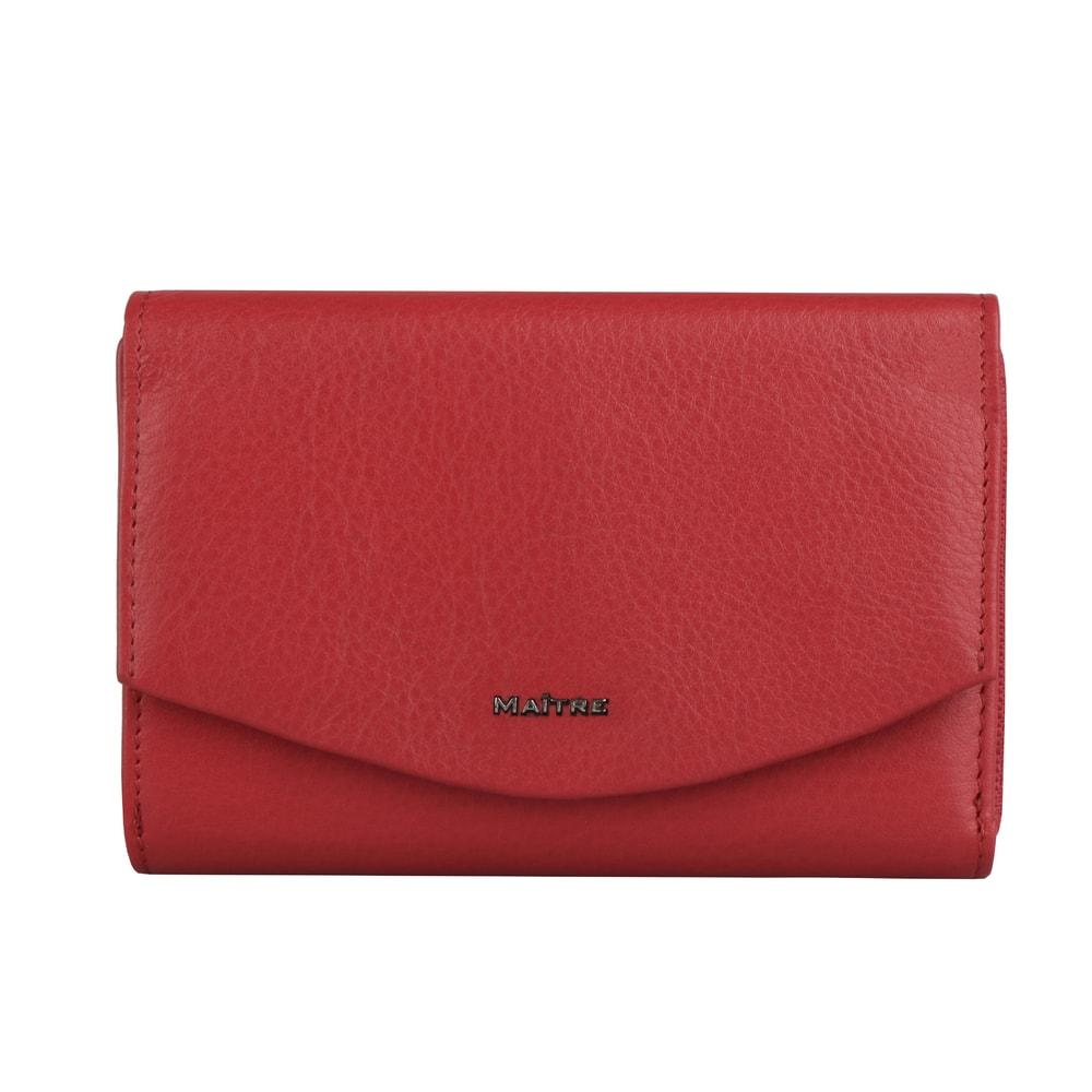 Maitre Dámská kožená peněženka Leisel Dagrete 4060001562 - červená