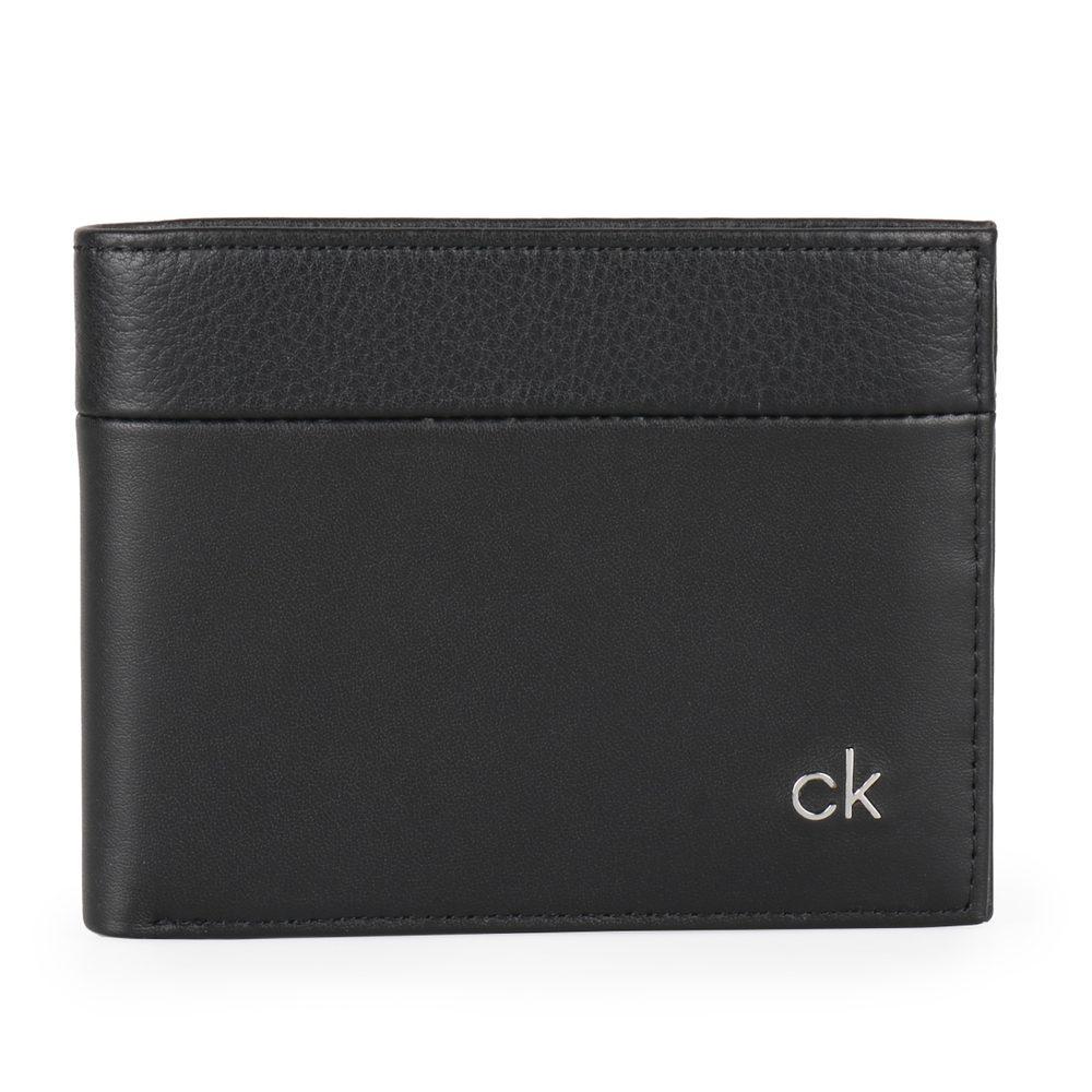 Calvin Klein Pánská kožená peněženka CK Direct K50K504835 - černá