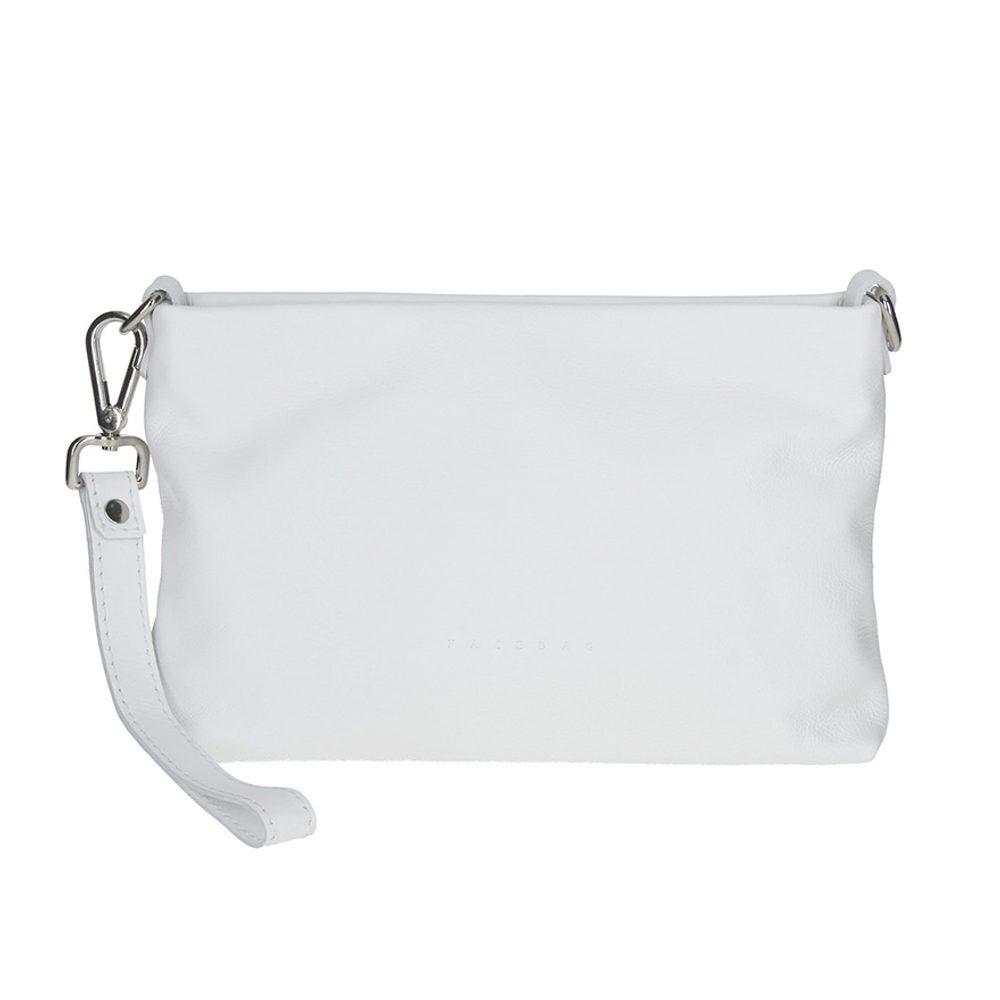 Unidax Dámská kožená kabelka Facebag Maxa 8003 - bílá