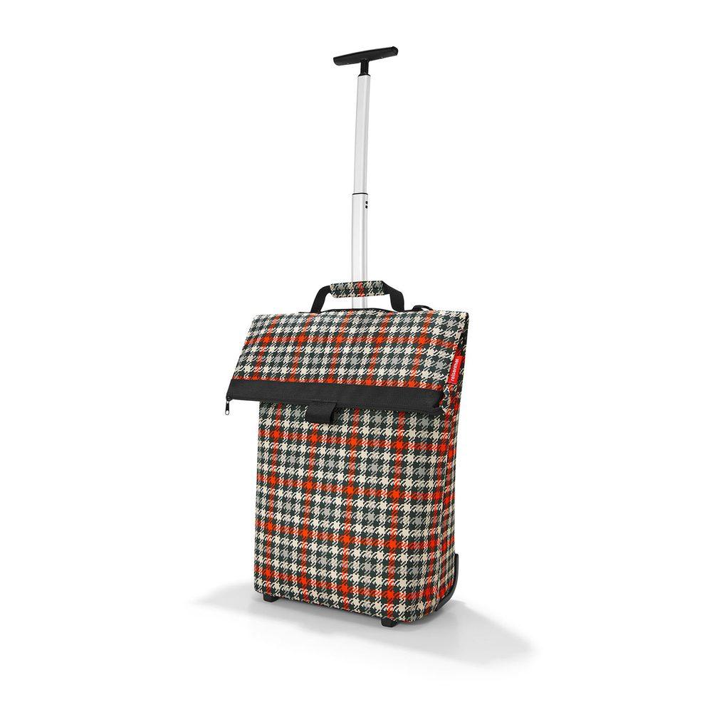 Reisenthel Nákupní taška na kolečkách M Glencheck Red 43 l