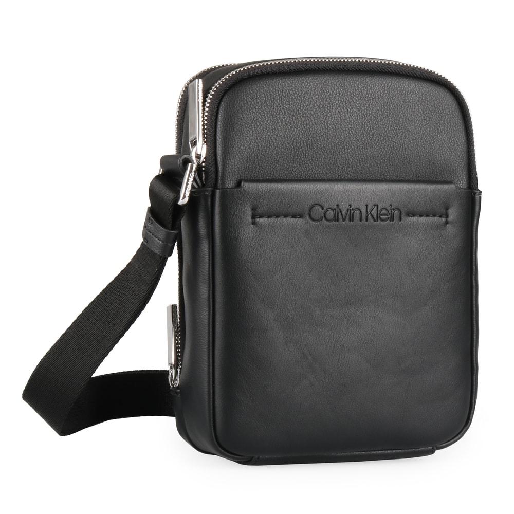 Calvin Klein Pánská taška přes rameno Flex 2 Gusset iPad Mini K50K504394 - černá