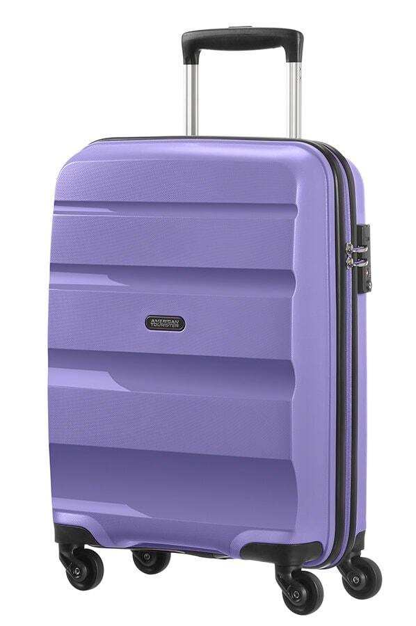 American Tourister Kabinový cestovní kufr Bon Air Spinner 85A 31,5 l - fialová