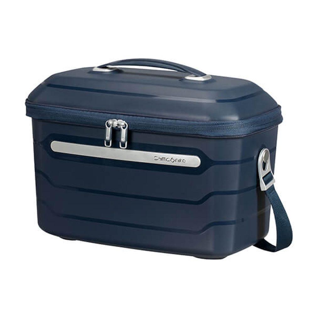 Samsonite Skořepinový kosmetický kufřík Flux 14 l - modrá