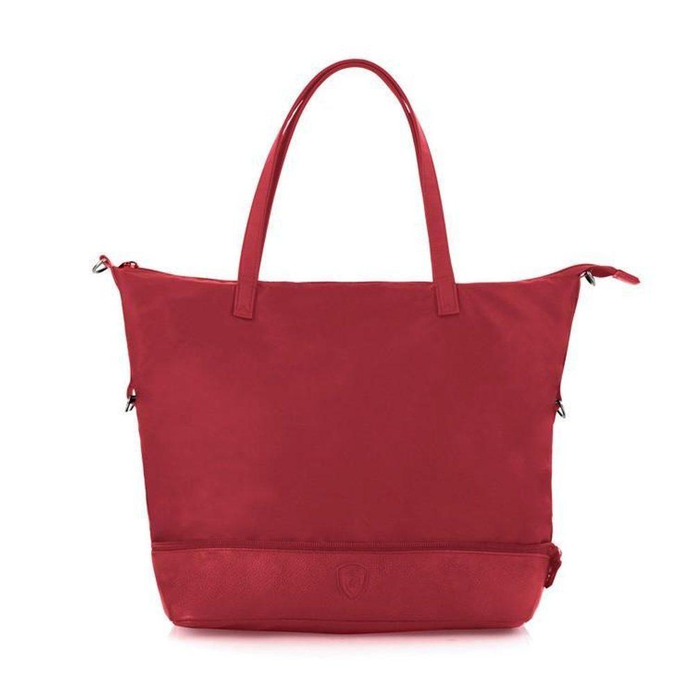 Heys Dámská skládací cestovní taška HiLite Zip Packaway Tote Red/Grey