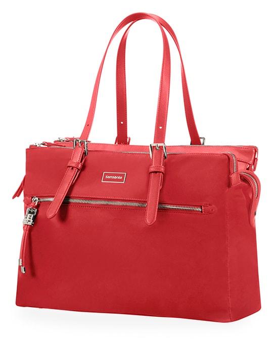 "Samsonite Dámská taška Organised Shopping Karissa Biz 14.1"" - červená"