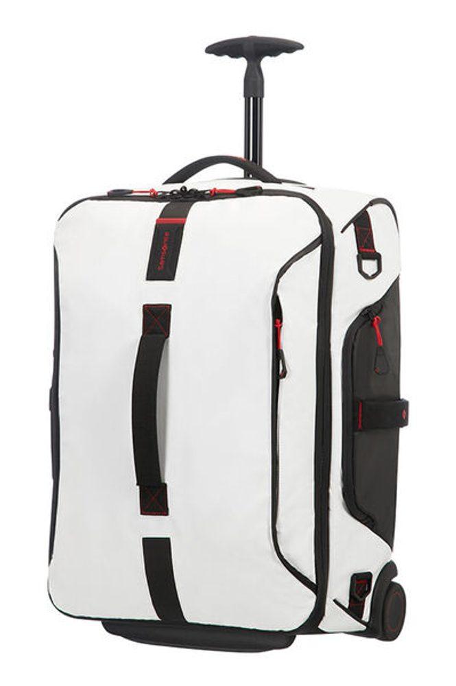 Samsonite Kabinová taška s kolečky PARADIVER 51 l - bílá