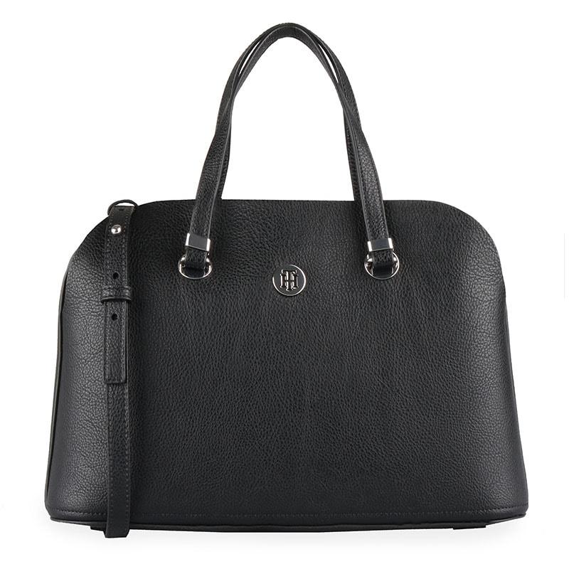 Tommy Hilfiger Dámská kabelka do ruky TH Core AW0AW06444 - černá