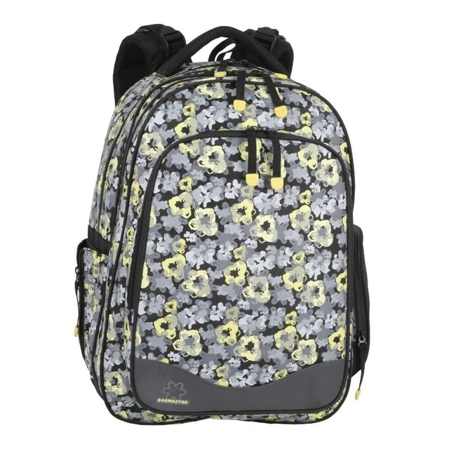 Bagmaster Školní batoh FLOWERS 01 B 28 l