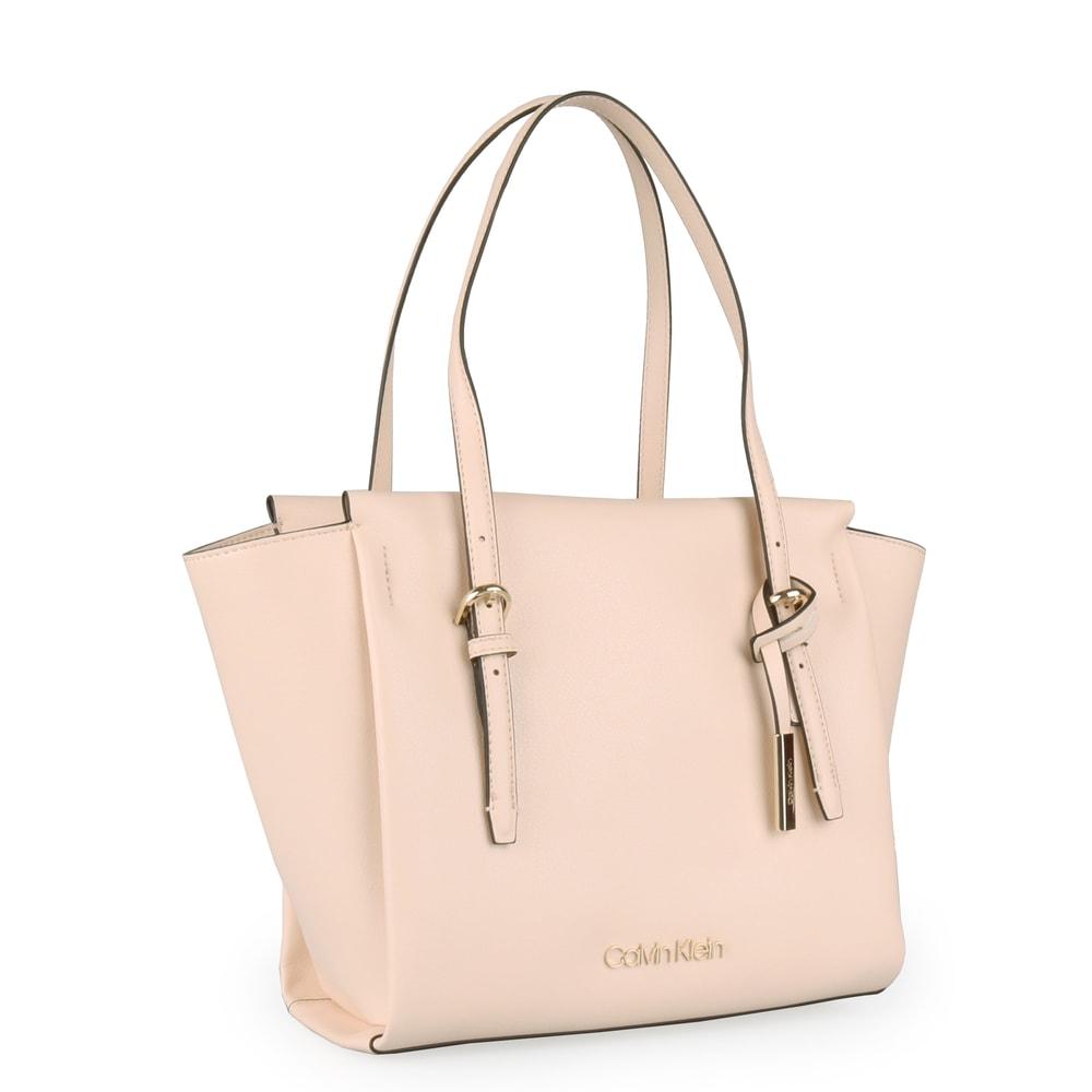 Calvin Klein Dámská kabelka přes rameno Avant Medium K60K605070 - béžová
