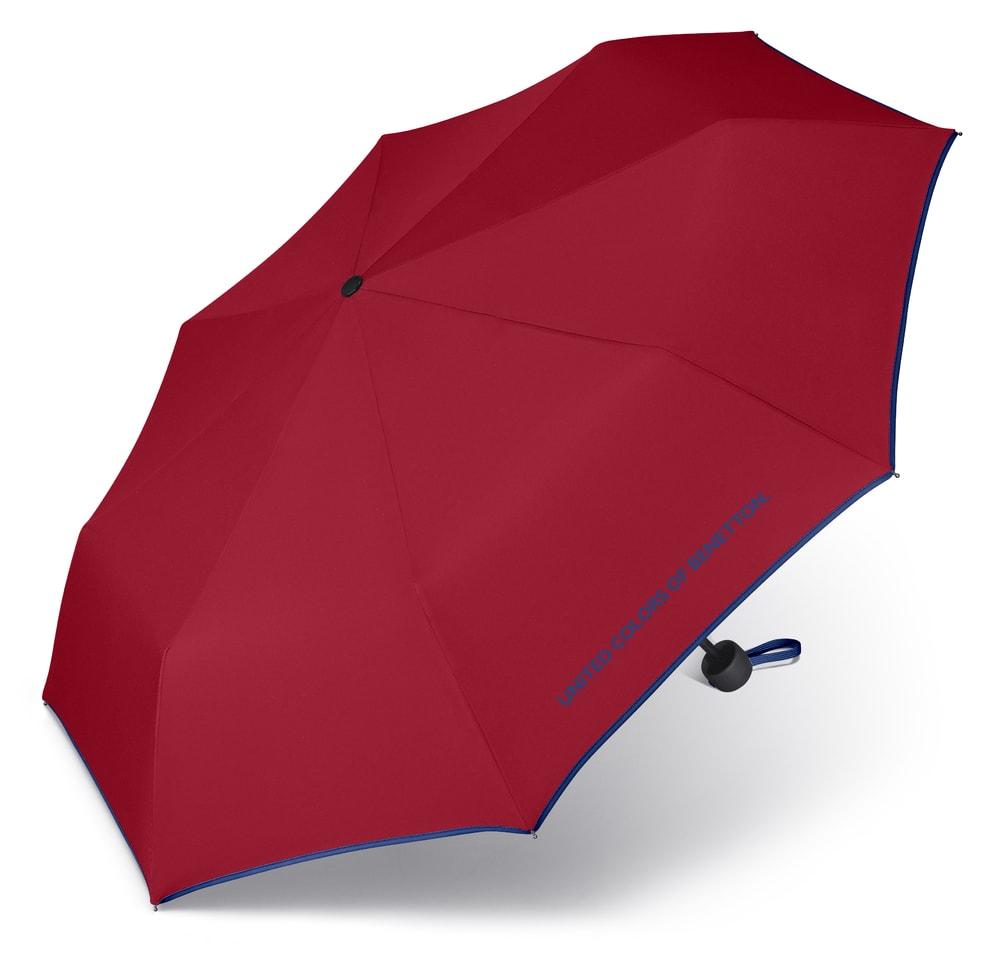 United Colors of Benetton Skládací deštník 56200 - červená